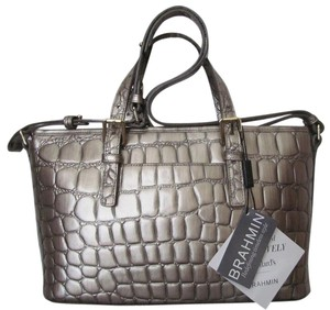 Brahmin New With Tag Tote in taupe
