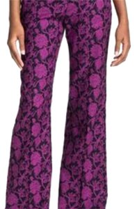 Tory Burch Wide Leg Pants Purple