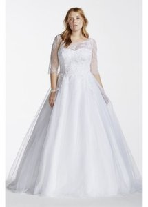 David's Bridal 9wg3742 Wedding Dress