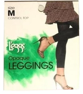 L'eggs Opaque Leggings CORAL SIZE Med B