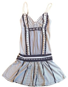 American Eagle Outfitters short dress Navy And White on Tradesy