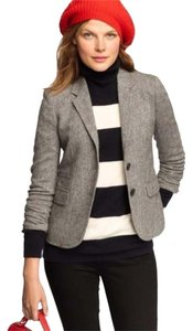 J.Crew Black, White Blazer