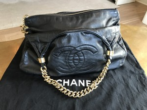 Chanel Classic Gold Hardware Chic Hobo Bag