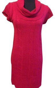 Ambiance Apparel short dress Holiday Red on Tradesy