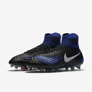 Nike Mens Mens Soccer Cleat Blue, Black, White Athletic
