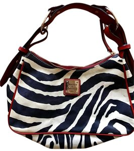 Dooney & Bourke & Red Pvc Shoulder Bag