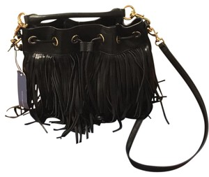 Rebecca Minkoff Fringe Fiona Bucket Cross Body Bag