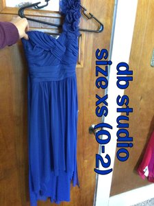 DB Studio Blue Rn#84270, Ca#56206 Dress