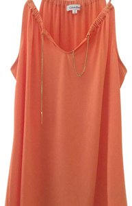Calvin Klein Collection Top Orange