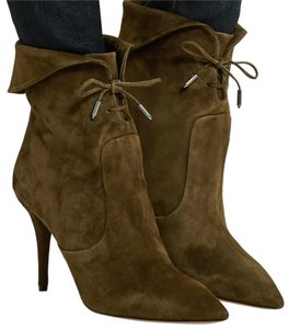 Aquazzura green Boots