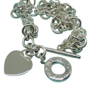 Tiffany & Co. Tiffany & Co. Heart Tag Toggle Necklace .925 Sterling Silver 16
