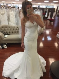 Pronovias Plisa Wedding Dress