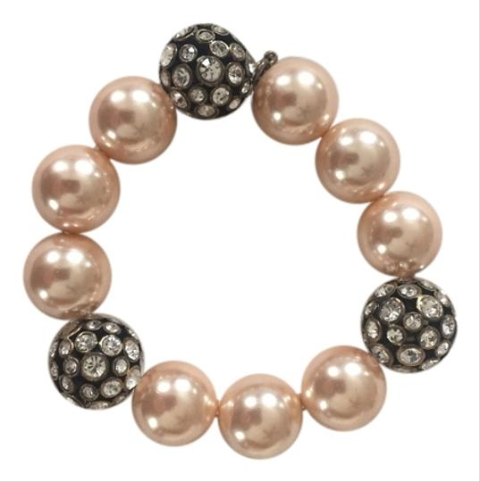 J.Crew Pearl and Crystal Ball Bracelet