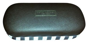 Henri Bendel NEW Striped Sunglass Case