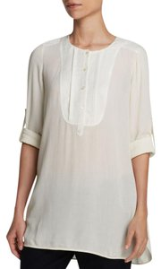 Vince Bib Relaxed Rayon Tunic