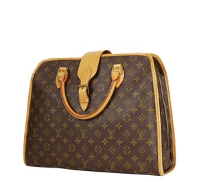Louis Vuitton Lv Laptop Lv Handbag Rare Lv Business Cumputer Satchel in Brown