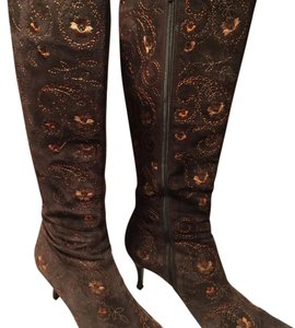 Richard Tyler Dark Brown Boots