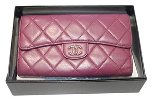 Chanel check stock Classic Flap Wallet