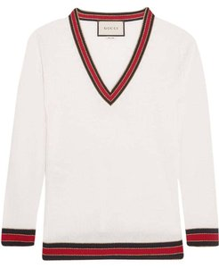 Gucci Merino Wool New Striped Lurex Sweater