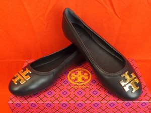 Tory Burch Tory Navy/Gold Flats