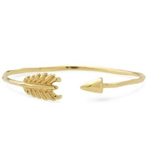 Stella & Dot Gilded Arrow Bangle - Gold