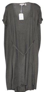 Inhabit short dress Metal Grey 2-layer Slip Cotton on Tradesy