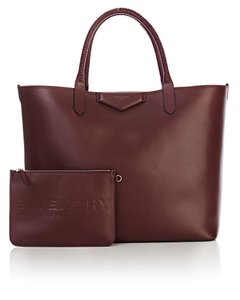 Givenchy Antigona Large Red Tote in oxblood