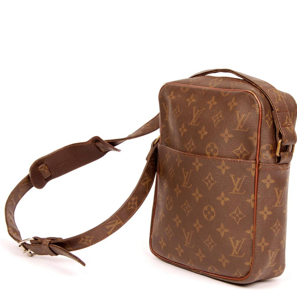 louis vuitton brown monogram 3949 canvas marceau shoulder bag tradesy. Black Bedroom Furniture Sets. Home Design Ideas