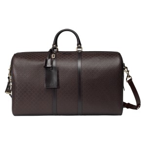 Gucci Carry-on Travel Gym Weekender Brown Travel Bag