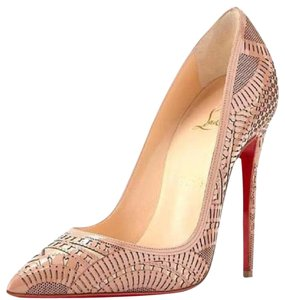 Christian Louboutin Version Nude Pumps