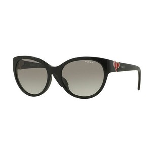 Vogue Eyewear VO5035SF-W44-11 Women's Black Frame Grey Lens 56mm Sunglasses