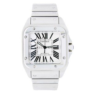 Cartier Cartier Santos 100 Automatic Stainless Steel Watch W200737G
