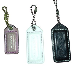 Coach Black, White and Pink Hangtags