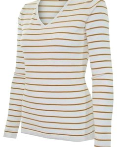 Ceilo Top white and gold