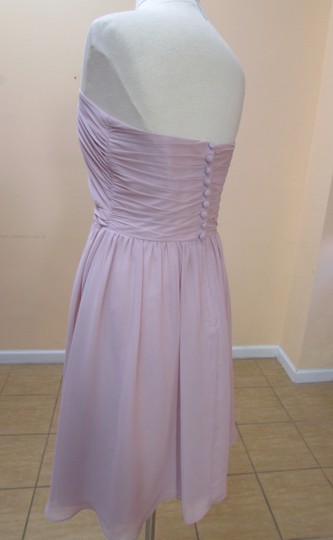 Alfred Angelo Love First Blush Chiffon 7361s Formal Bridesmaid/Mob Dress Size 10 (M)