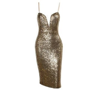 Society of Chic Sequin Nye Dress