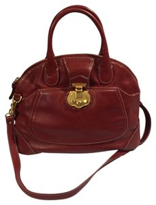 Talbots Satchel in Red
