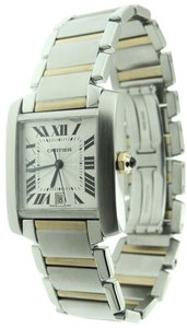 Cartier Cartier Tank Francaise 18K Yellow Gold & Stainless Steel Auto Date Wat