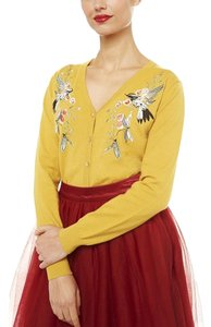 Lindy Bop Embroidered Floral Cardigan