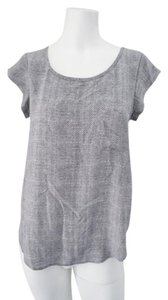 Joie Silk Top Gray