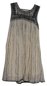 Free People short dress white and black on Tradesy