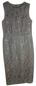 Vince Camuto Sequin Beaded Lace Vintage Dress