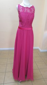 DaVinci Bridal Fuchsia/Fuchsia 60192 Dress