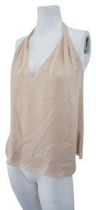 Haute Hippie Hh Silk Cocktail Top Nude