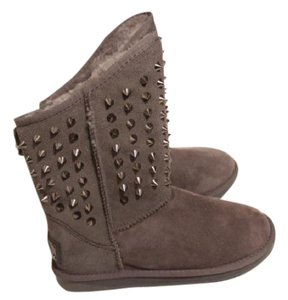 Australia Luxe Collective Rockstud Studs Uggs Grey Boots