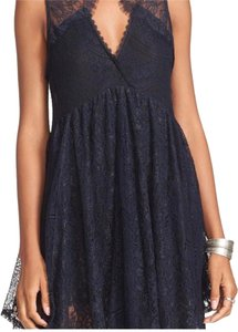 Black and Navy Blue Maxi Dress by Free People