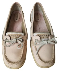 Sperry Boat Pink Flats