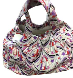 Emilio Pucci Redpurple Travel Bag