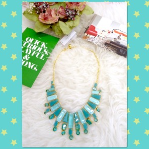 Kate Spade Beach Gem Statement Necklace