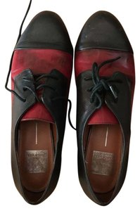 Dolce Vita black/red leather Flats